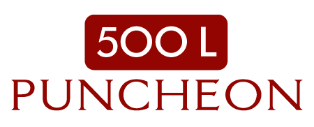500L Puncheon Barrel | 3 to 4 Year Air-Seasoned Wood